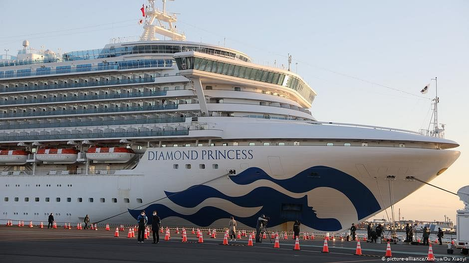 What is it like on Japan's quarantined cruise ship?