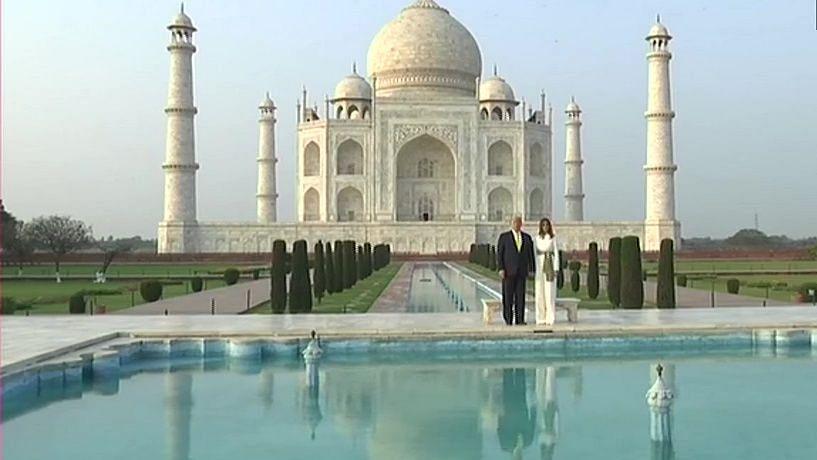 Trump in India LIVE: US President Donald Trump and First Lady Melania Trump reach Taj Mahal