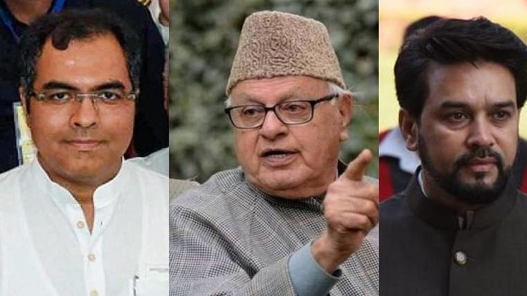 MP Farooq Abdullah  slapped with Public Safety Act, while no action against Anurag Thakur and Parvesh Verma