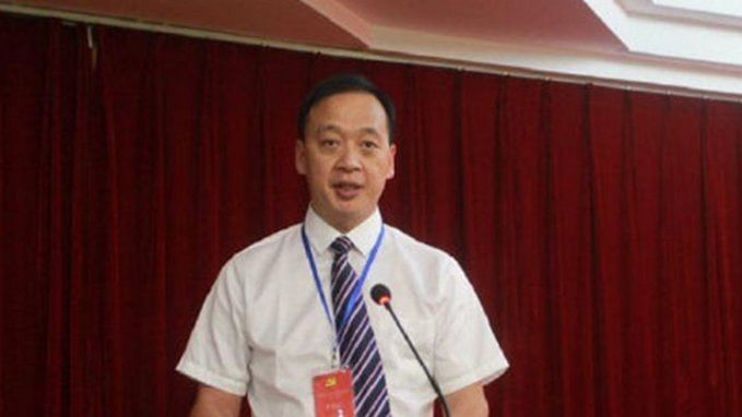 Liu Zhiming, the director of Wuchang Hospital in Wuhan (Photo courtesy: Twitter)