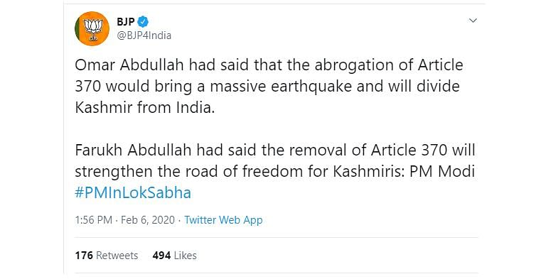 Fact-check: PM Modi quotes satire from 'Faking News' in Parliament to target former J&K CM Omar Abdullah