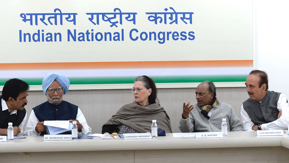 Congress Working Committee meets to discuss communal violence in northeast Delhi