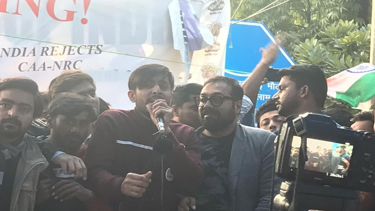 Anurag Kashyap's 'dil ki baat' at Jamia