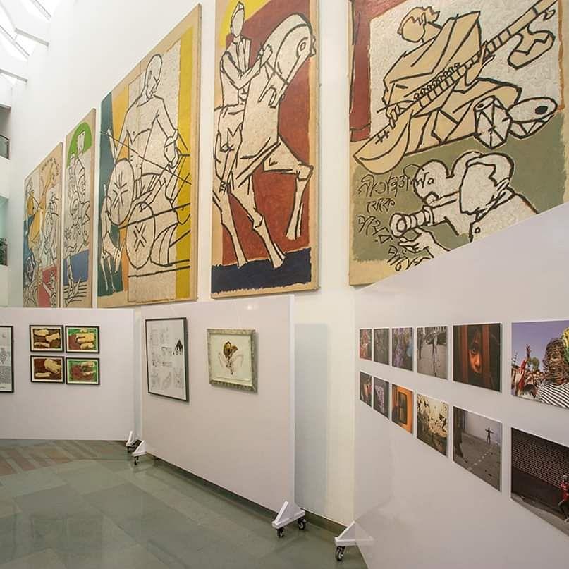 SAHMAT Art Exhibition portrays resistance to the assault on Constitution