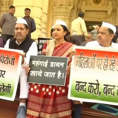 LIVE News Updates: Congress holds a protest outside UP Assembly
