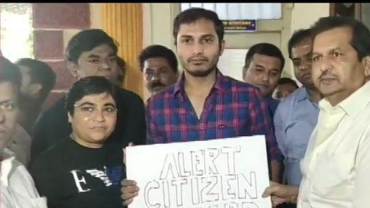 BJP felicitates Uber driver who took passenger to police for talking against Citizenship Act