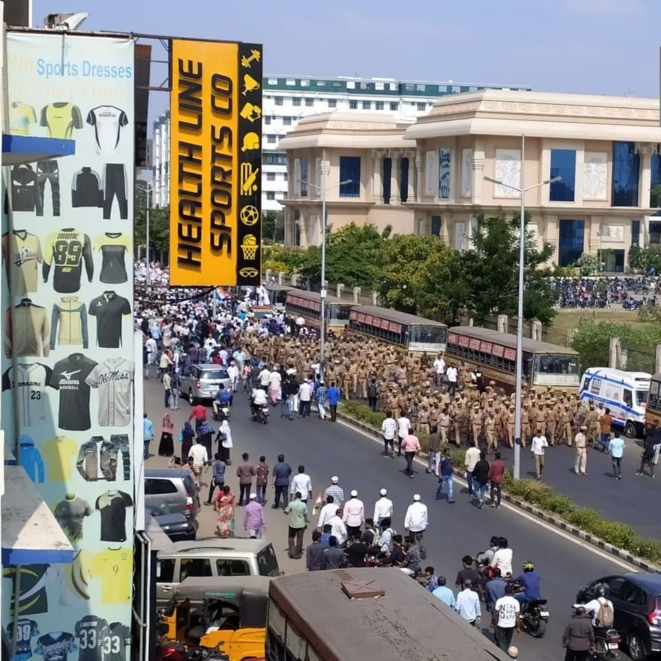 LIVE News Updates: People march towards State Secretariat to protest against CAA in Tamil Nadu