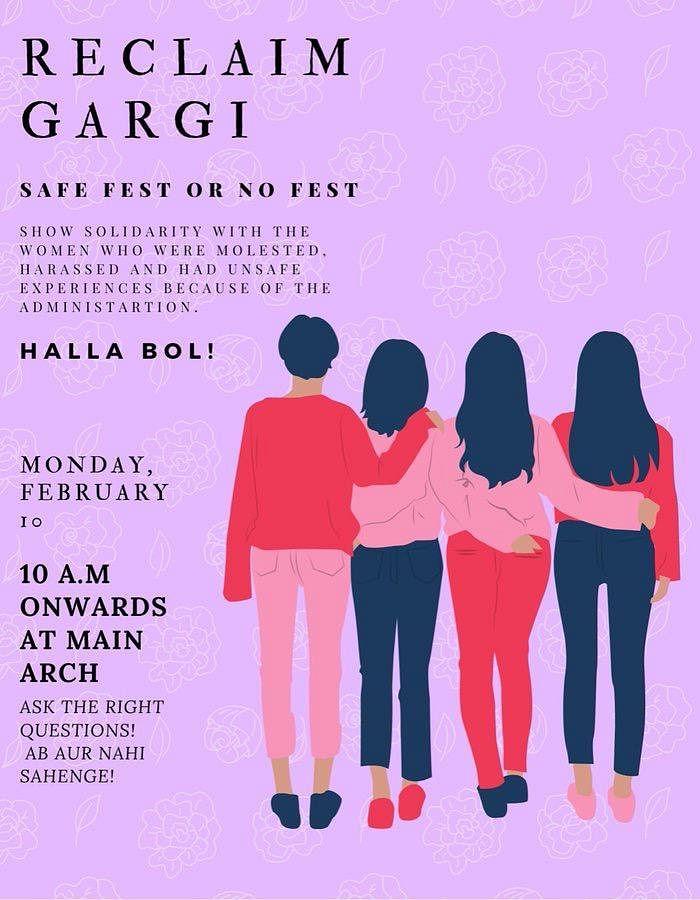 "Molested thrice in 10 mins: Gargi College girls say ""BJP goons chanting Jai Shree Ram molested us"""