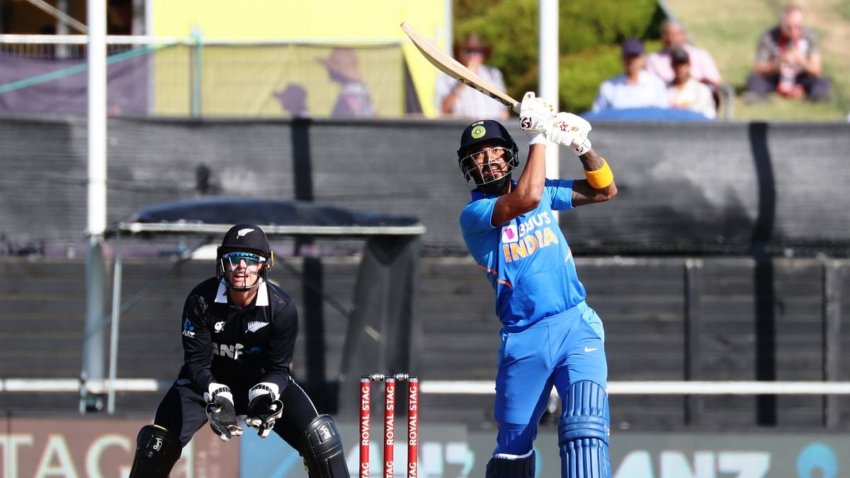 Iyer hits maiden ton as India score 347/4 in 1st ODI against New Zealand