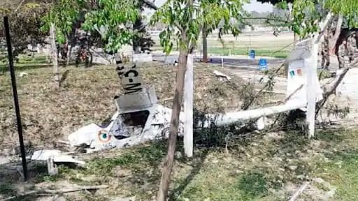 IAF pilot killed in microlight aircraft crashes in Patiala