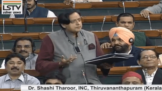 Parliament LIVE: Govt schemes should be named as sit-down India, shutdown India & shut-up India, says Tharoor