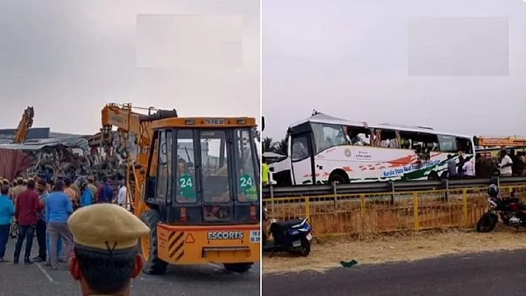 19 killed in bus-container lorry collision in Tamil Nadu
