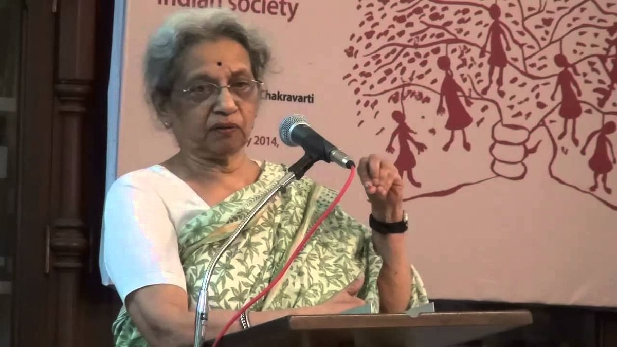 Noted historian and feminist scholar Uma Chakravarti to deliver Social Change Golden Jubilee Lecture 2020