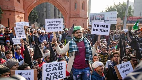 AMU students march against police action on anti-CAA protesters in Kanpur