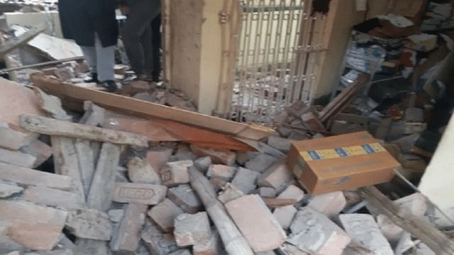 Five people injured in an explosion at a house in Patna