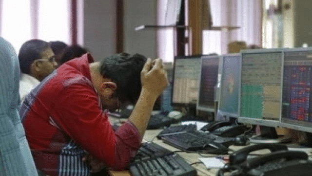 Sensex nosedives over 1,400 points in early trade; Nifty tests 14,400