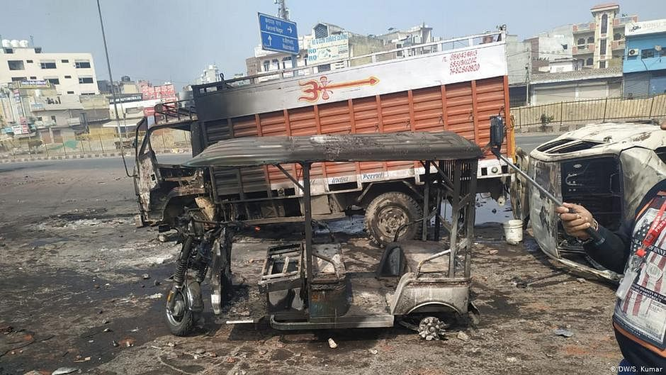 Delhi riots: Court frames charges against 2 for putting shrine on fire, damaging property
