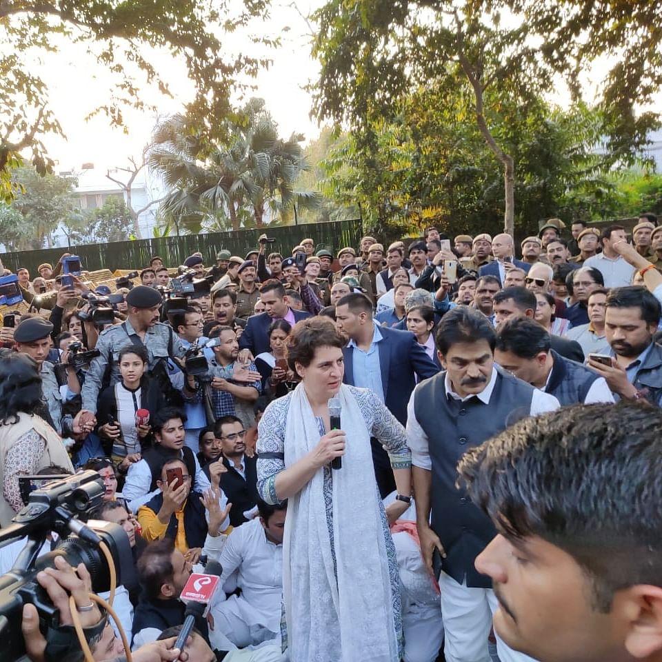 Congress Peace March: Amit Shah failed, must resign, says Priyanka Gandhi