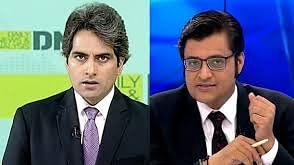 WATCH: Arnab Goswami theatrics as AAP trumps BJP in Delhi, Sudhir Chaudhary brings in Pakistan