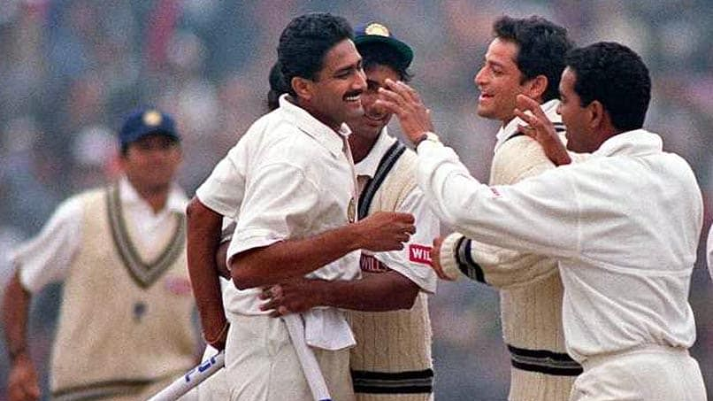 This day, 1999: When Kumble registered a 'Perfect 10' against Pakistan
