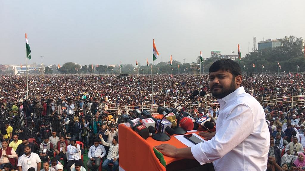 Jan Gan Man yatra: What the country needs today is freedom from rioters, says Kanhaiya Kumar