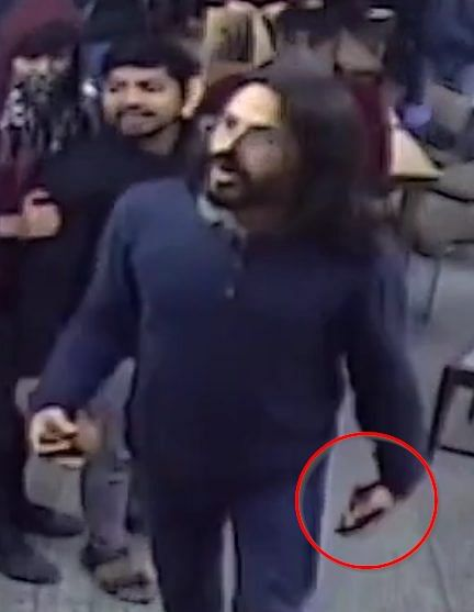 Jamia violence: Media misreport wallet as 'stone' in student's hand