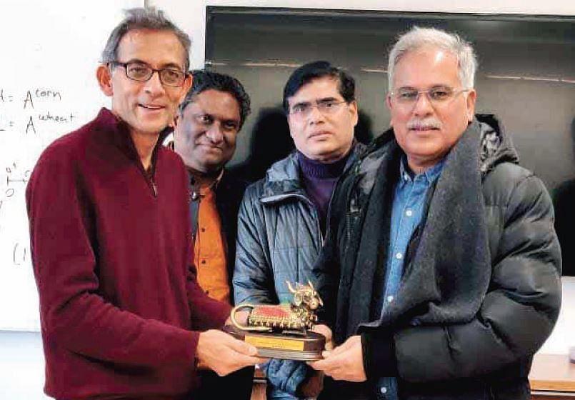 Chhattisgarh CM Bhupesh Baghel enlists support of Nobel Laureate Abhijit Banerjee
