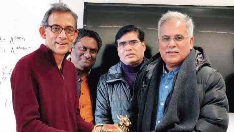 Chhattisgarh CM Bhupesh Baghel enlists support of Nobel Laureate Abhijit Banerjee