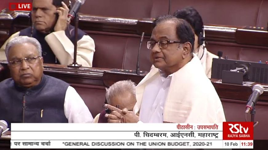 WATCH: Economy close to collapse, being attended by incompetent doctors, says  P Chidambaram