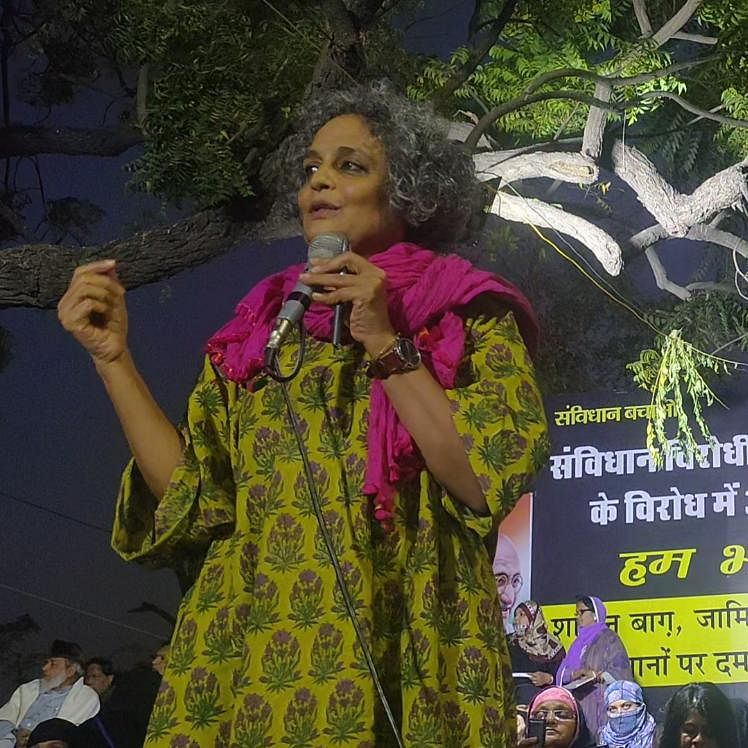 Modi govt thinks against Muslims but CAA-NRC-NPR are against people: Arundhati Roy