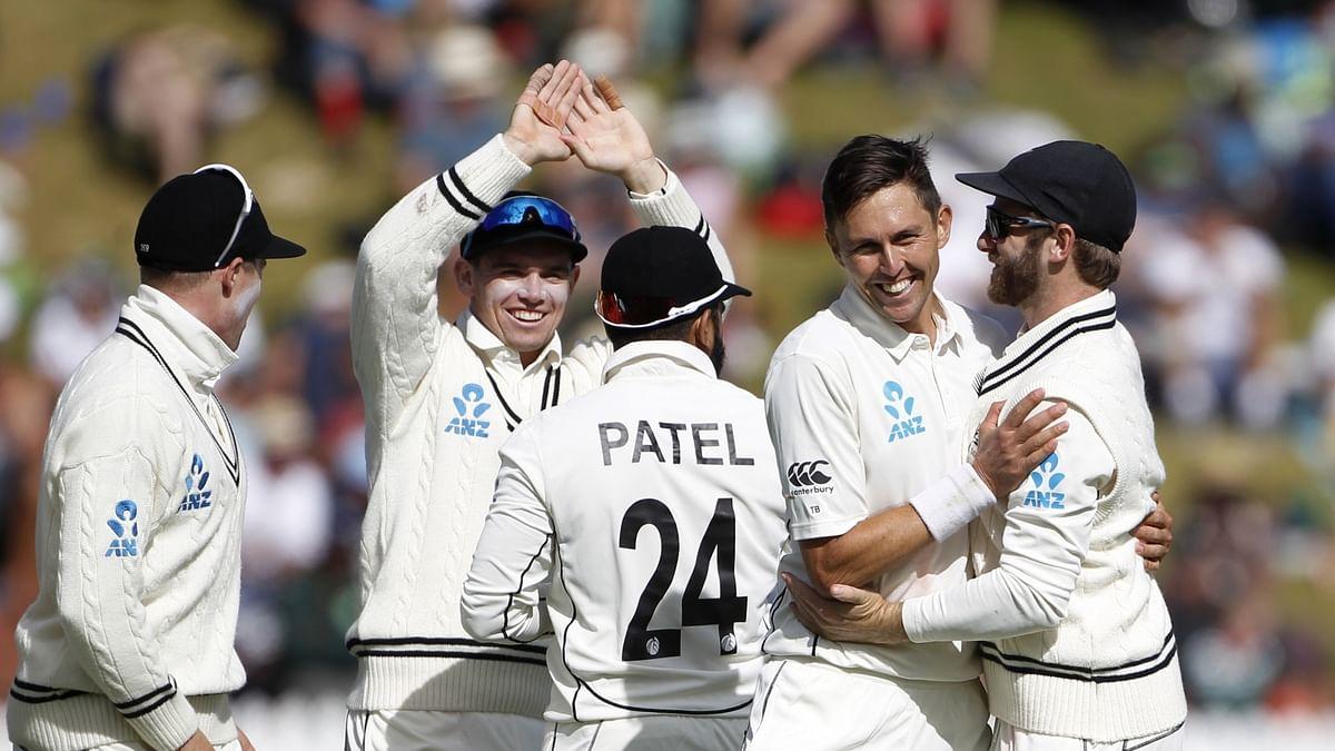 New Zealand thrash India by 10 wickets in Wellington Test, take 1-0 lead