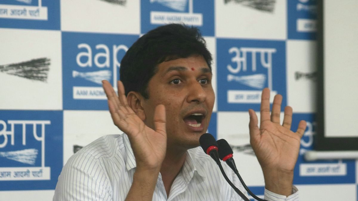 If suspects are running away, don't blame them, says AAP MLA Saurabh Bhardwaj