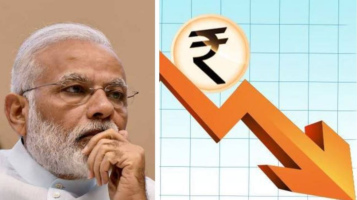 As Rupee breaches ₹75 mark, PM reminded of his jibes on the 'falling Rupee' before 2014