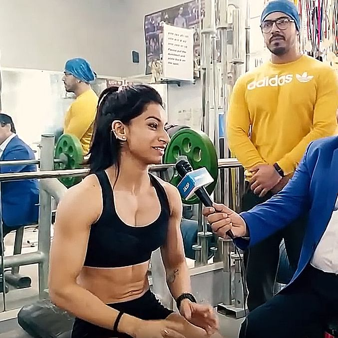 The unusual story of Body Builder Shalika Shaswati