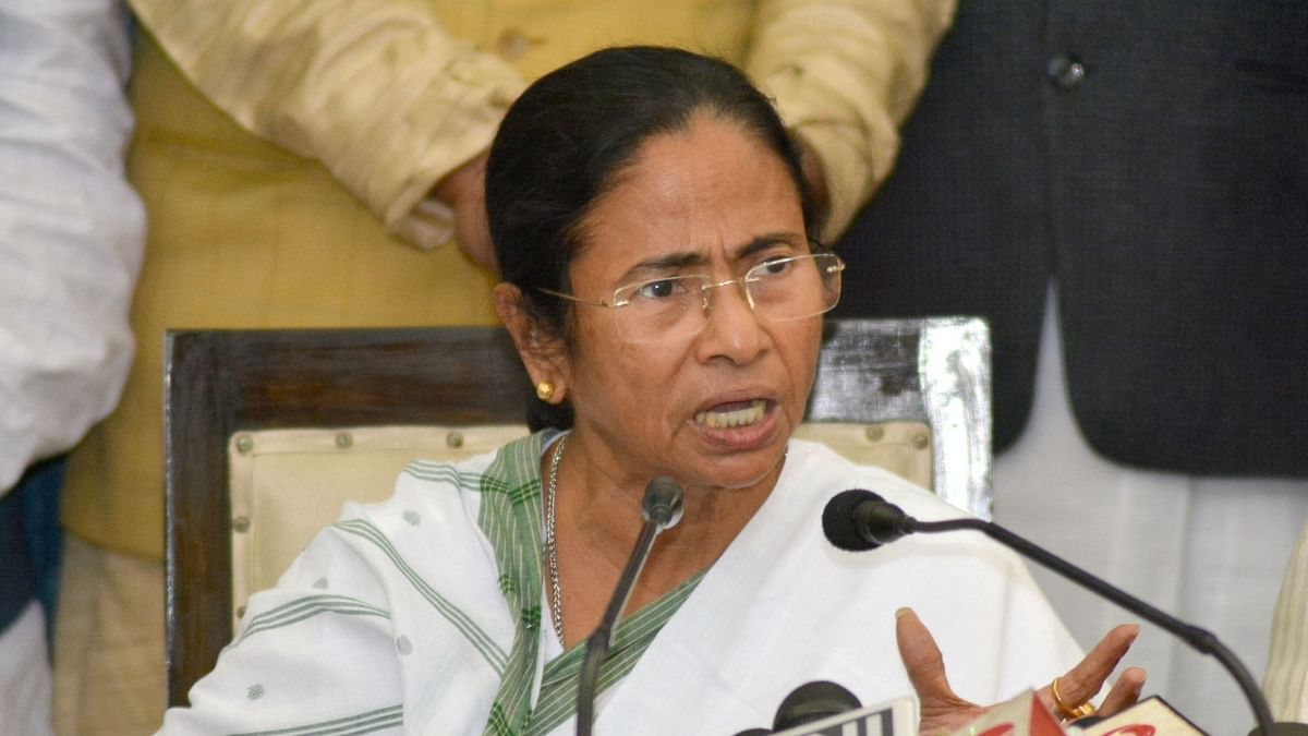 Mamata addresses virtual rally on Martyrs' Day, says Centre plotting to topple oppn govts using state agencies