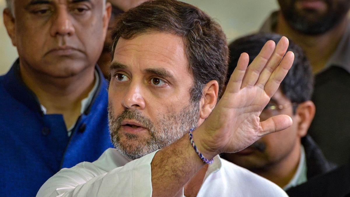 Promised 'Ram Raj', delivered 'Gunda Raj': Rahul Gandhi slams Yogi