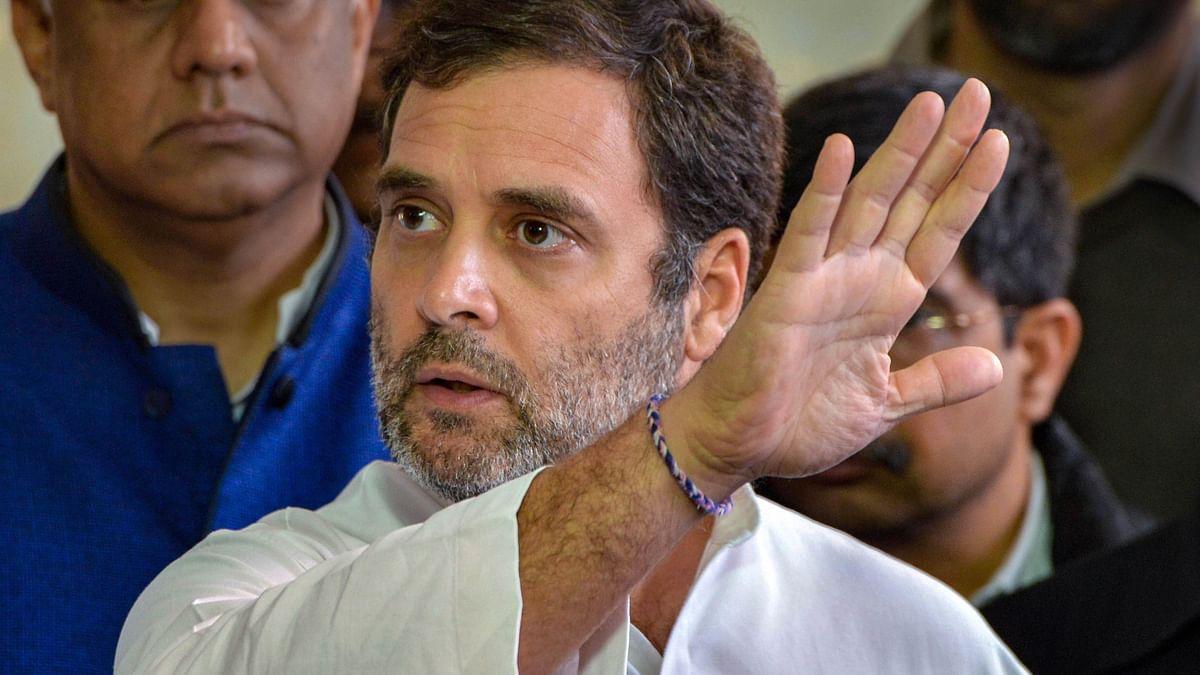 Rahul Gandhi Photo Courtesy: PTI