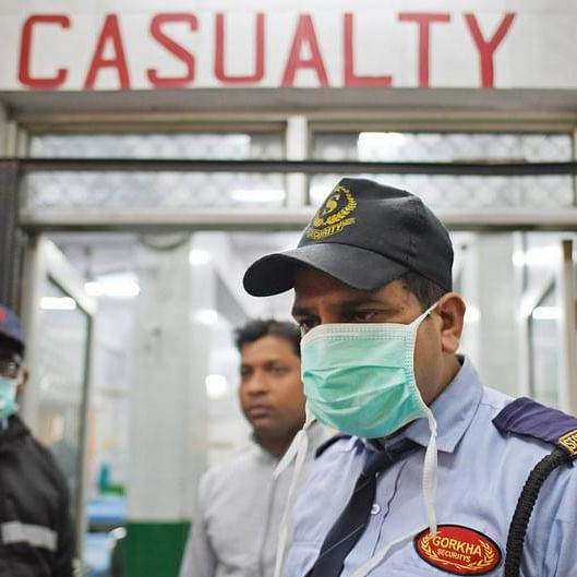 India reports fifth coronavirus death