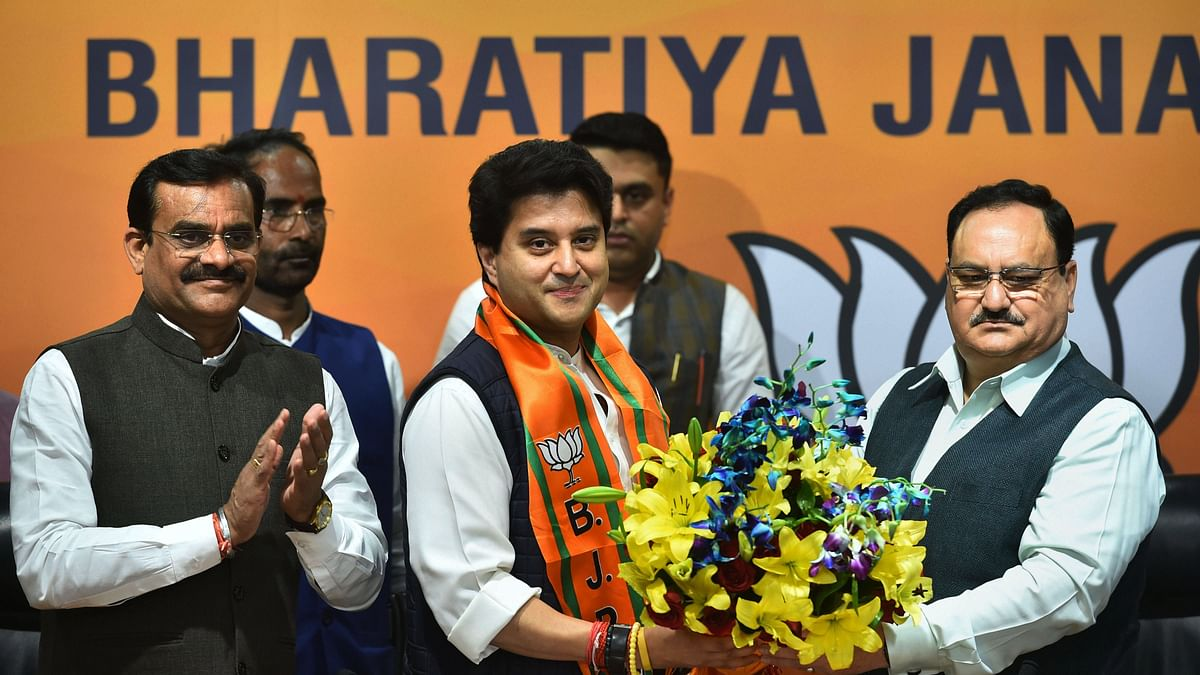 BJP has mostly used and discarded  defectors from the Congress: Scindia & Madhya Pradesh