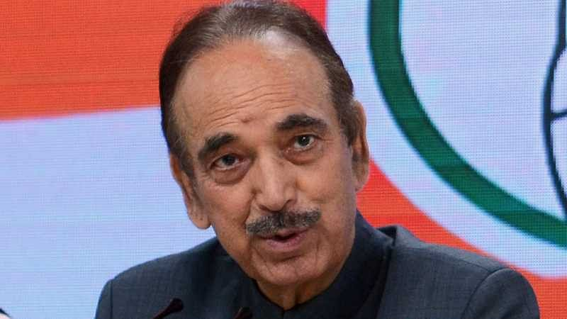 Ever since BJP has come to power, the democracy of the country is being finished, says Ghulam Nabi Azad