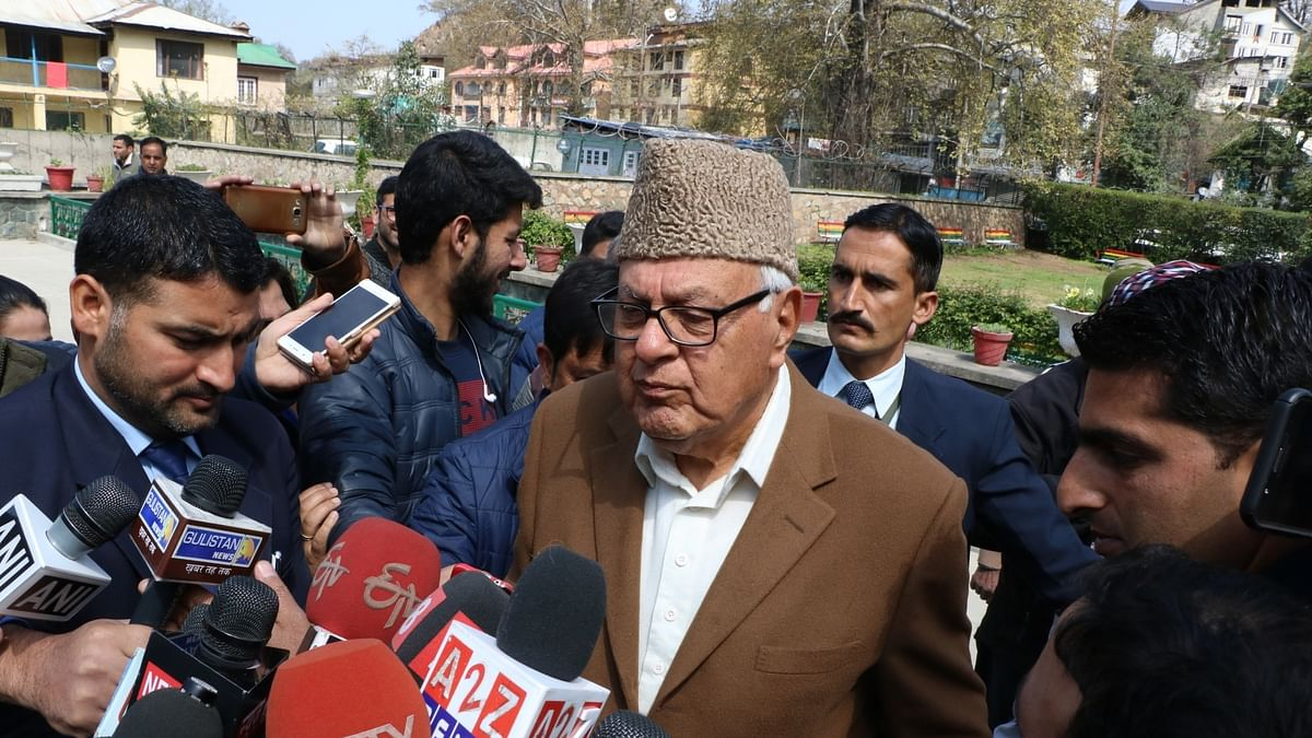Can't believe I'm free; Future to be decided after all leaders are released, says Farooq Abdullah