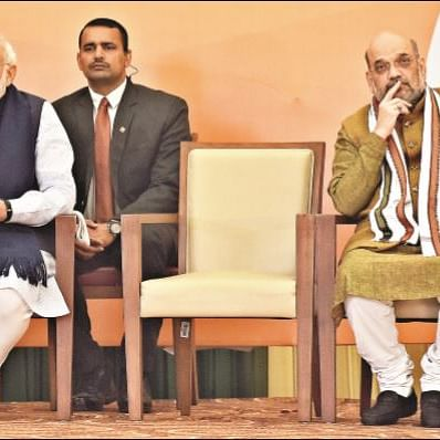 Has Amit Shah fallen out of favour with Modi?