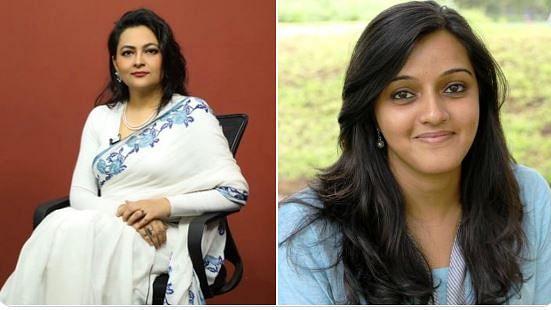 Arfa Khanum (left) and Rohini Mohan