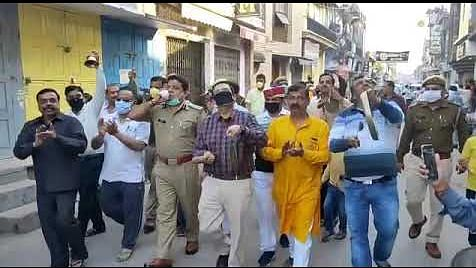 Janata Curfew's labours lost ? Watch videos to see people defying the message