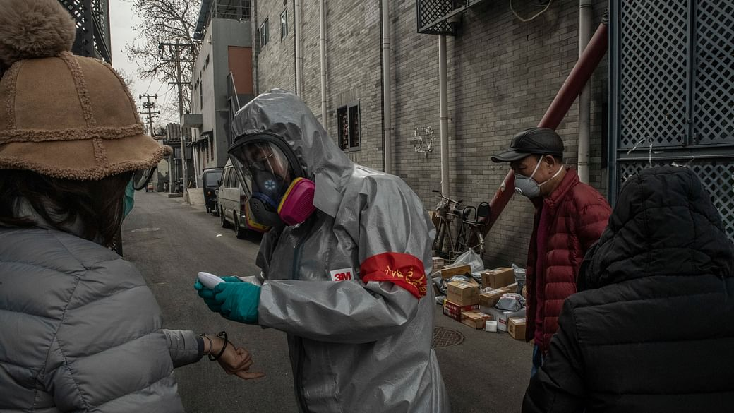 China reports no new domestic coronavirus cases for first time
