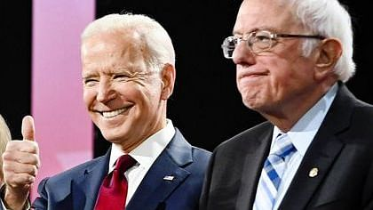 Two-horse race for the democratic nomination
