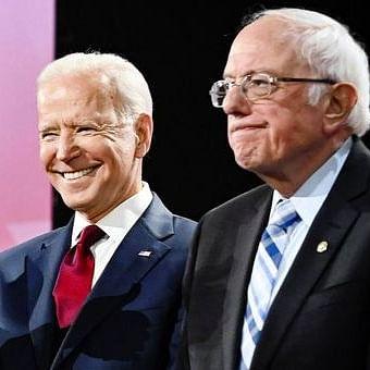 Bernie Sanders and Joe Biden(Photo Courtesy: Twitter)