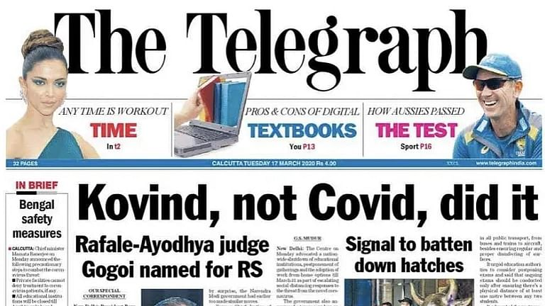 Whither freedom of expression? Press Council issues notice to Telegraph for headline
