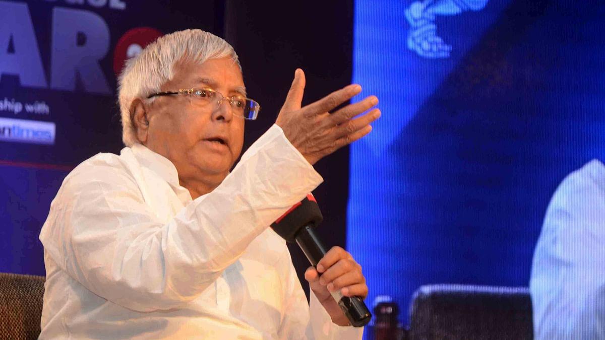 Nitish became CM by 'passing exam in 3rd division': Lalu Prasad Yadav