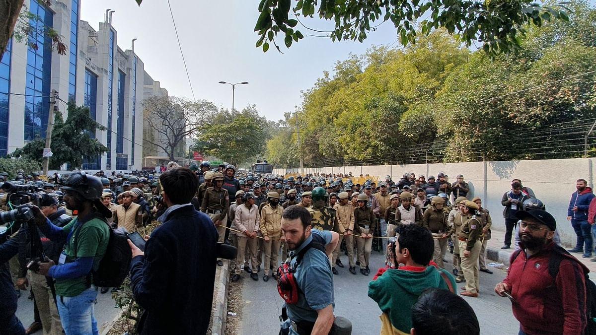 Jamia violence: Police seeks dismissal of FIR plea